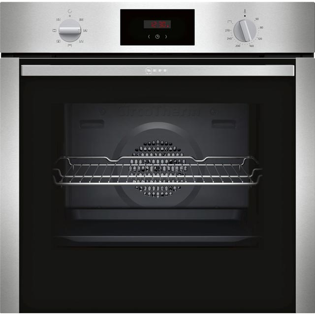 NEFF B1DCC0AN0B Electric Single Oven Stainless Steel