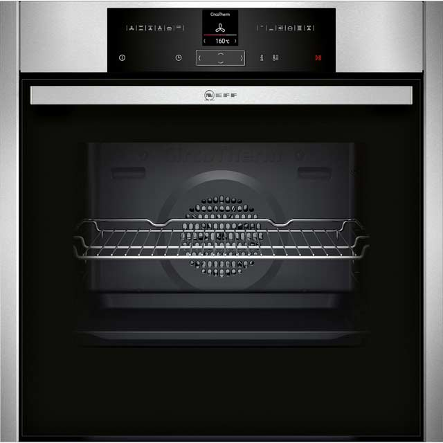 NEFF N70 Electric Single Oven - Stainless Steel - A+ Rated