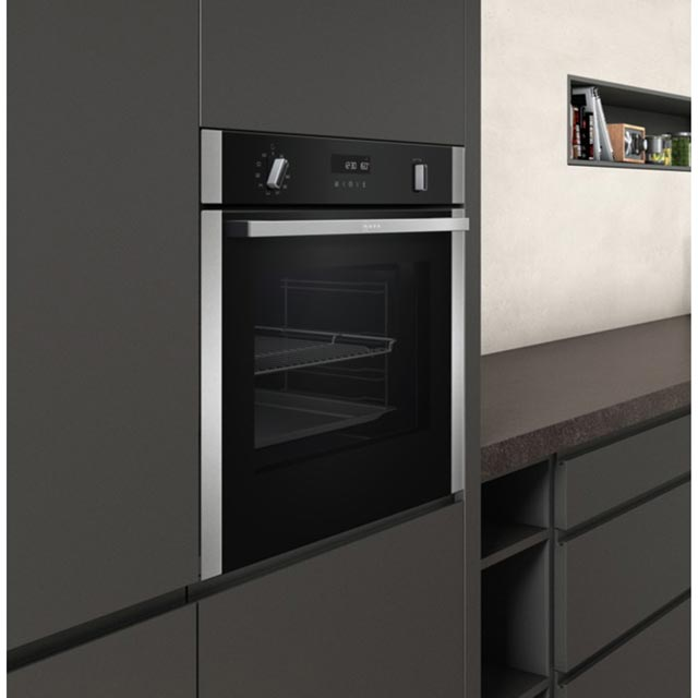 NEFF N50 B2ACH7HN0B Built In Electric Single Oven - Stainless Steel - B2ACH7HN0B_SS - 5