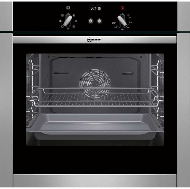 Neff Slide&Hide B44M42N5GB Built In Electric Single Oven - Stainless Steel
