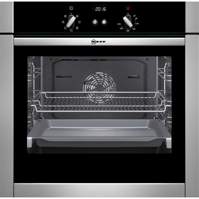Neff B44M43N5GB Built In Electric Single Oven - Stainless Steel