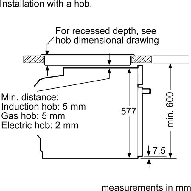 neff n90 slide hide b47cs34n0b built in electric single oven rh ao com neff electric hob wiring diagram Wiring Diagram Symbols