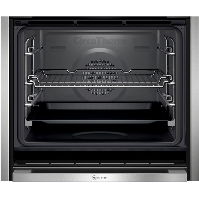 NEFF N90 Slide&Hide® B47FS34H0B Built In Electric Single Oven - Stainless Steel - B47FS34H0B_SS - 5