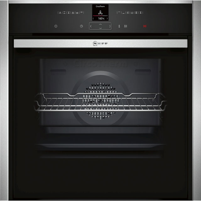 NEFF N70 Slide&Hide Electric Single Oven - Stainless Steel - A+ Rated