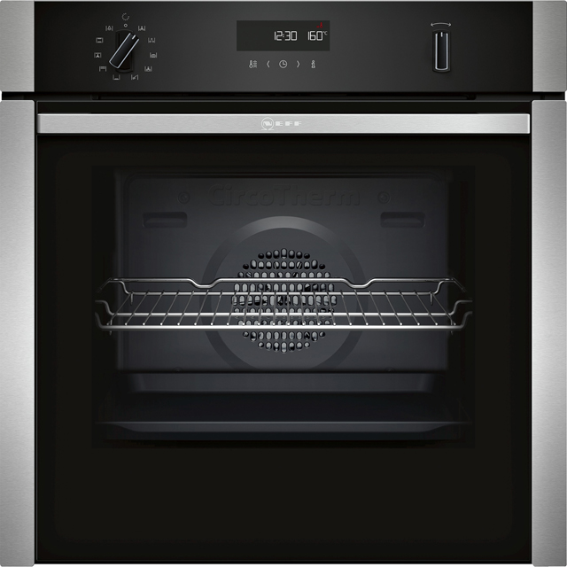 NEFF N50 B5ACH7AN0B Built In Electric Single Oven - Stainless Steel - A Rated - B5ACH7AN0B_SS - 1