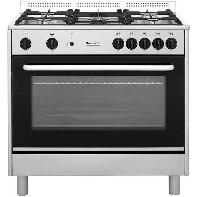 Baumatic BC190.2TCSS Free Standing Range Cooker in Stainless Steel
