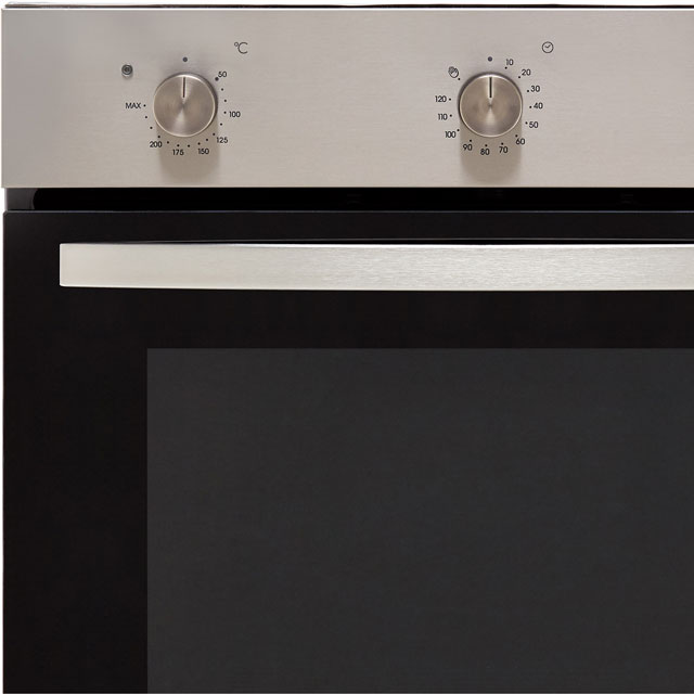 Baumatic BCPK605X Built In Single Ovens & Ceramic Hobs - Stainless Steel / Black - BCPK605X_SSB - 3