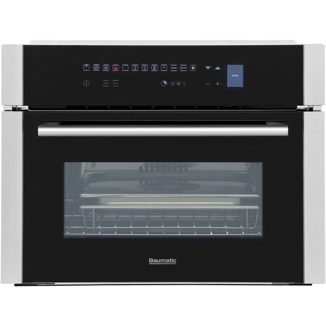 Baumatic BCS461SS Built In Steam Oven - Stainless Steel - BCS461SS_SS - 1