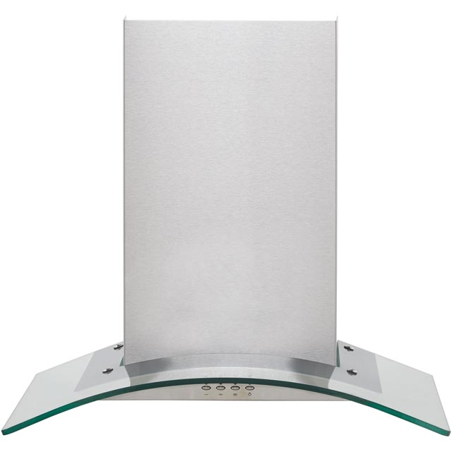 Baumatic BECH60GL 60 cm Chimney Cooker Hood - Stainless Steel / Glass - BECH60GL_SSG - 1