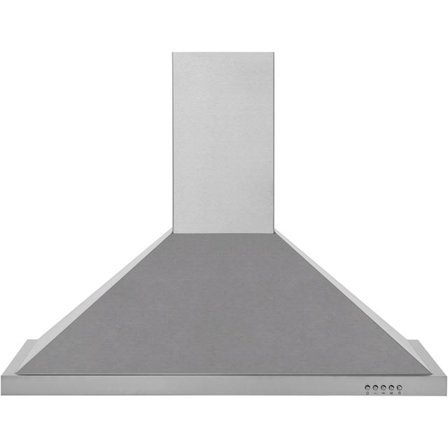 Baumatic BECH90X 90 cm Chimney Cooker Hood - Stainless Steel - C Rated - BECH90X_SS - 1