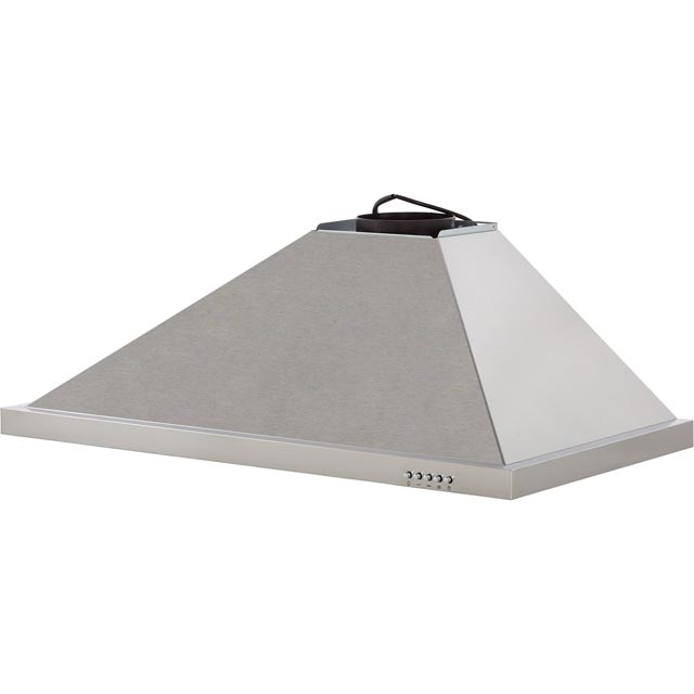 Baumatic BECH90X 90 cm Chimney Cooker Hood - Stainless Steel - BECH90X_SS - 4