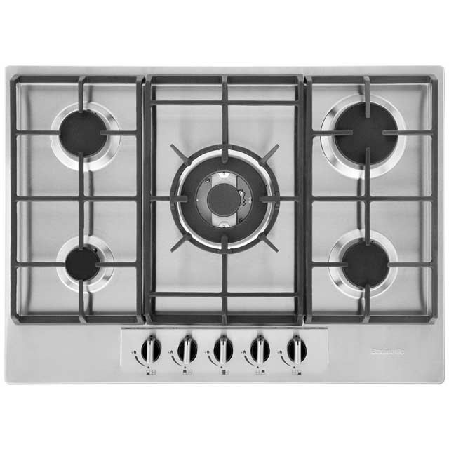 Baumatic 70cm Gas Hob - Stainless Steel