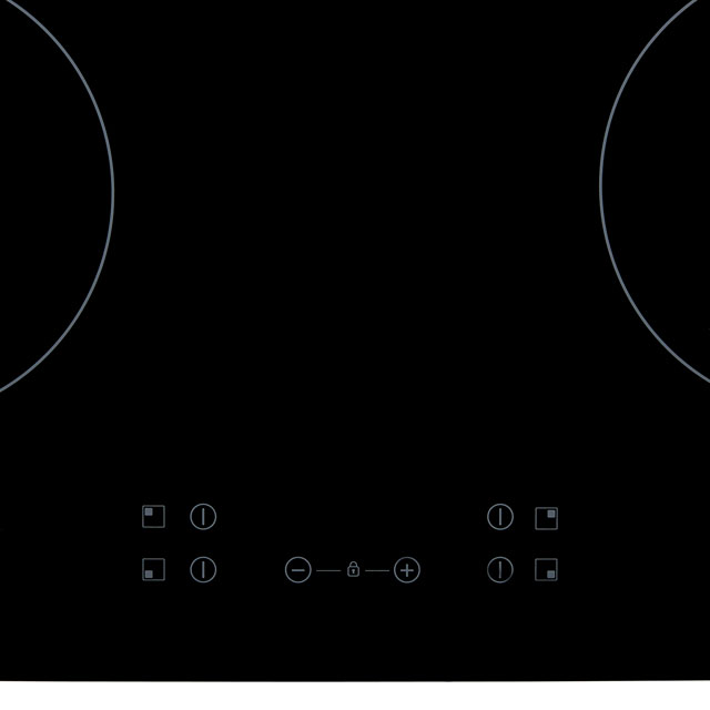 Baumatic BHIC605 Built In Ceramic Hob - Black - BHIC605_BK - 2