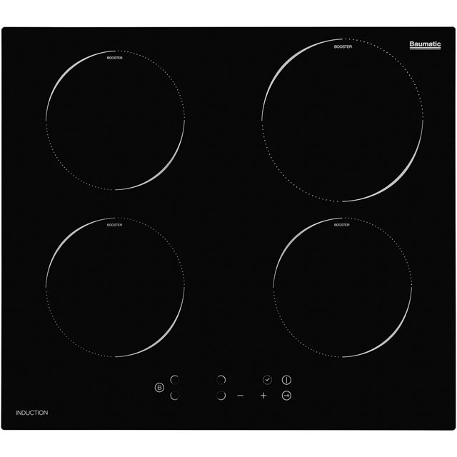 Baumatic BHII6015 59cm Induction Hob - Black - BHII6015_BK - 1