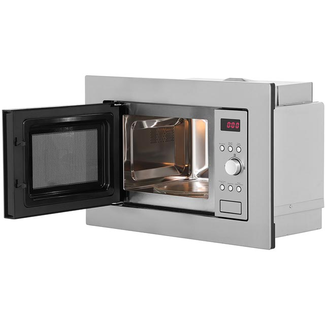 Baumatic BMIS3820 Built In Microwave - Stainless Steel - BMIS3820_SS - 5