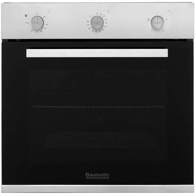 Baumatic Electric Single Oven - Stainless Steel - A+ Rated