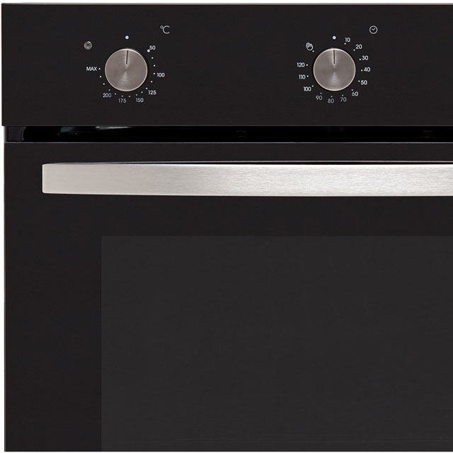 Baumatic BOFMU604B Built In Electric Single Oven - Black - BOFMU604B_BK - 3