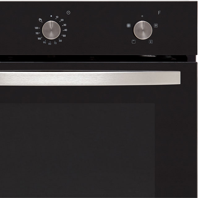 Baumatic BOFMU604B Built In Electric Single Oven - Black - BOFMU604B_BK - 4