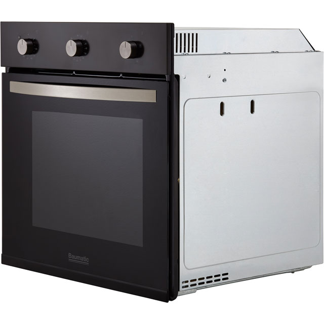 Baumatic BOFMU604B Built In Electric Single Oven - Black - BOFMU604B_BK - 5