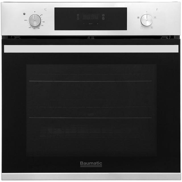 Baumatic BOFT604X Built In Electric Single Oven - Stainless Steel - A+ Rated