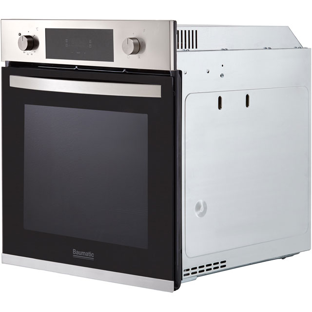 Baumatic BOFTU604X Built In Electric Single Oven - Stainless Steel - BOFTU604X_SS - 3
