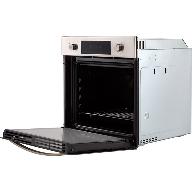 Baumatic BOMTU608X Built In Electric Single Oven - Stainless Steel - BOMTU608X_SS - 4