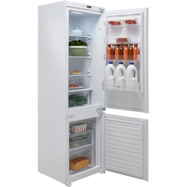 Baumatic BRCIF3180E Integrated 70/30 Frost Free Fridge Freezer with Sliding Door Fixing Kit - White - A++ Rated - BRCIF3180E_WH - 1