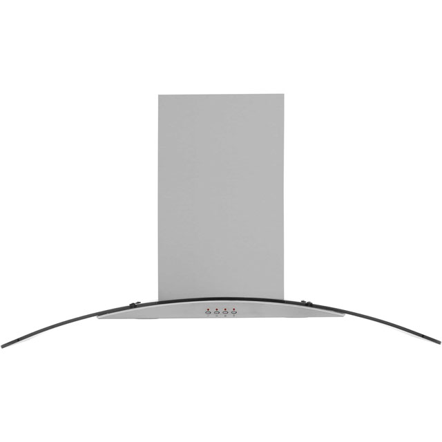 Baumatic BT10.3GL 100 cm Chimney Cooker Hood - Stainless Steel - E Rated - BT10.3GL_SS - 1
