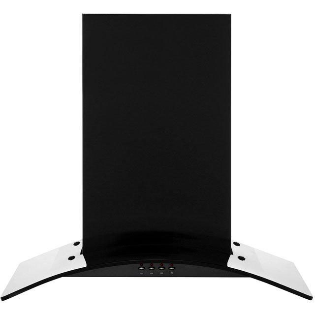 Baumatic BT6.3BGL 60 cm Chimney Cooker Hood - Black - E Rated - BT6.3BGL_BK - 1
