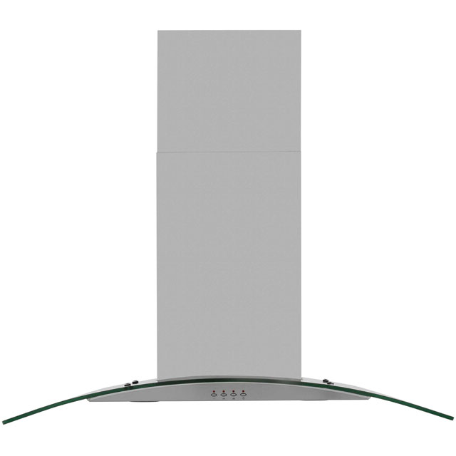 Baumatic 90 cm Chimney Cooker Hood - Stainless Steel - E Rated