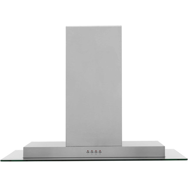 Baumatic BTI975GL 90 cm Island Cooker Hood - Glass - D Rated - BTI975GL_GL - 1
