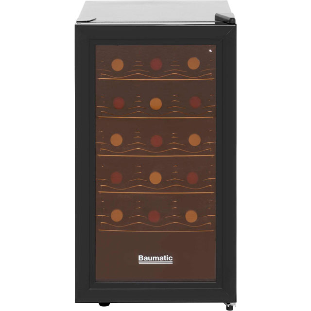 Baumatic Free Standing Wine Cooler in Black