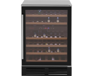 Baumatic BWC605SS Wine Cooler - Black
