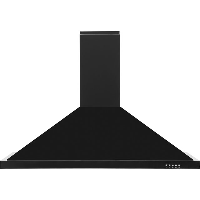 Baumatic F100.2BL 100 cm Chimney Cooker Hood - Black - F Rated