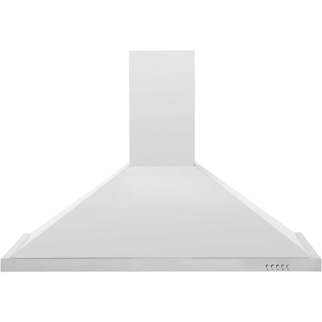 Baumatic F100.2SS 100 cm Chimney Cooker Hood - Stainless Steel - F Rated - F100.2SS_SS - 1
