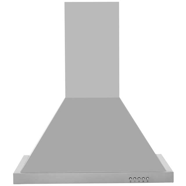 Baumatic F60.2SS 60 cm Chimney Cooker Hood - Stainless Steel - E Rated
