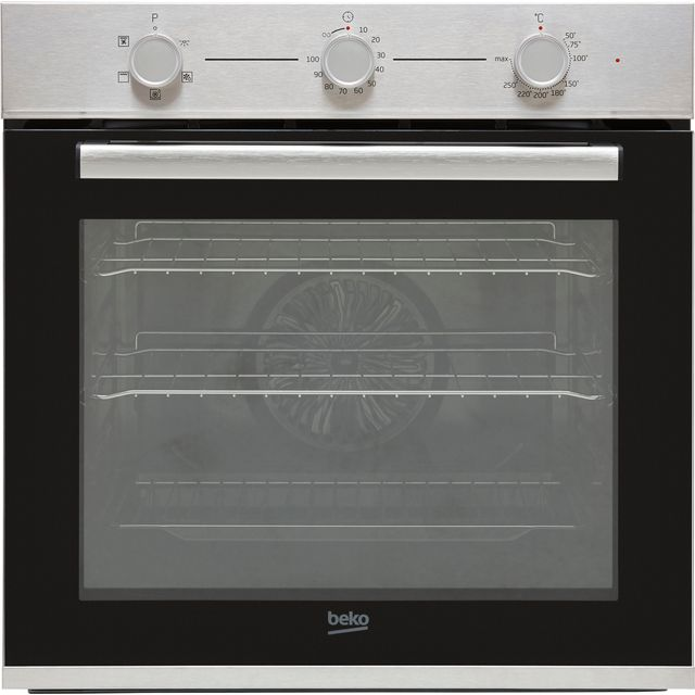 Beko AeroPerfect� RecycledNet� BBIF22100X Built In Electric Single Oven - Stainless Steel - A Rated