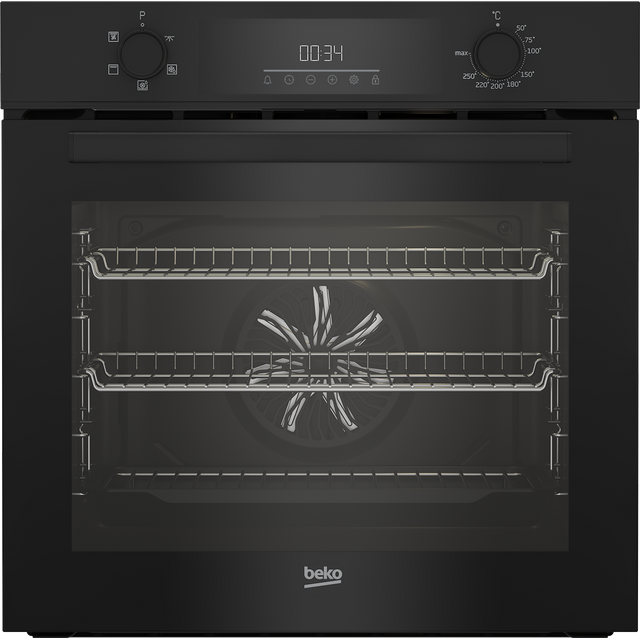 Beko AeroPerfect™ BBIF22300B Built In Electric Single Oven - Black - BBIF22300B_BK - 1