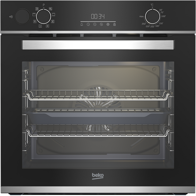 Beko AeroPerfect™ BBIS25300XC Built In Electric Single Oven - Stainless Steel - BBIS25300XC_SS - 1