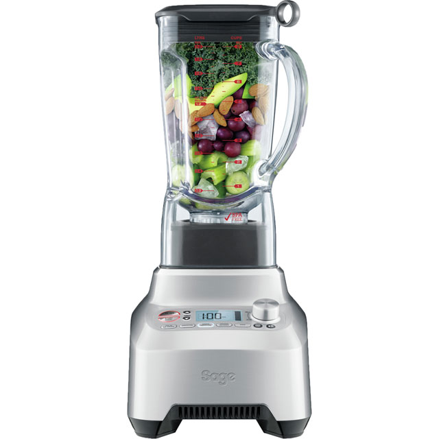 Image of Sage By Heston Blumenthal The Boss BBL915UK Blender in Stainless Steel