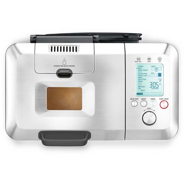 Sage By Heston Blumenthal The Custom Loaf Pro BBM800BSS Bread Maker in Stainless Steel