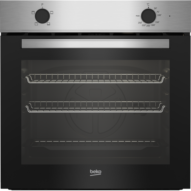 Beko BBRIC21000X Built In Electric Single Oven - Stainless Steel - BBRIC21000X_SS - 1