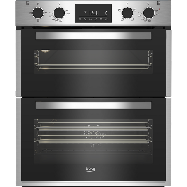 Beko BBTF26300X Built Under Double Oven - Stainless Steel - BBTF26300X_SS - 1