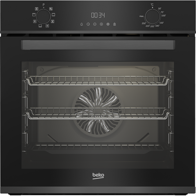 Beko AeroPerfect� BBXIM17300DX Built In Electric Single Oven - Dark Steel - A Rated