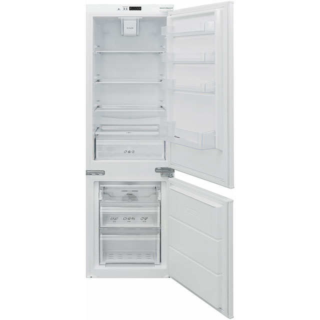 Candy BCBF174FTK Integrated 70/30 Frost Free Fridge Freezer with Sliding Door Fixing Kit - White - A++ Rated
