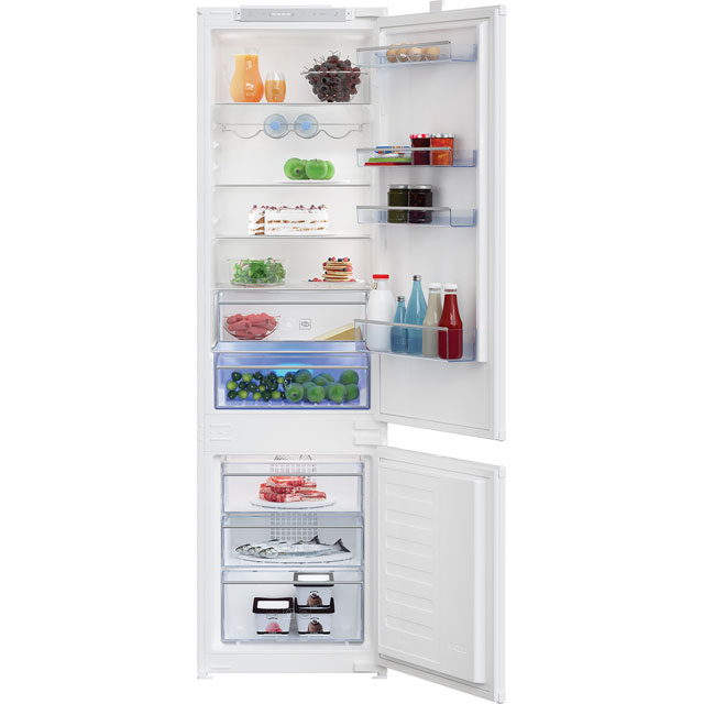 Beko BCBFD1973 Integrated 70/30 Frost Free Fridge Freezer - White - A+ Rated Best Price, Cheapest Prices