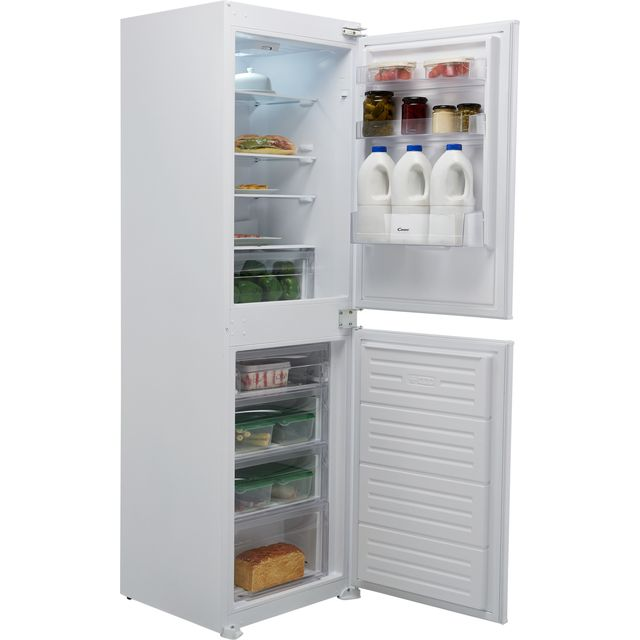Image of Candy BCBS1725TK/N Integrated Frost Free Fridge Freezer with Sliding Door Fixing Kit - White - F Rated