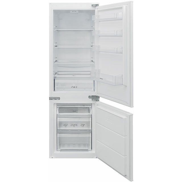 Candy BCBS174TTK Integrated 70/30 Fridge Freezer with Sliding Door Fixing Kit - White - A++ Rated Best Price, Cheapest Prices