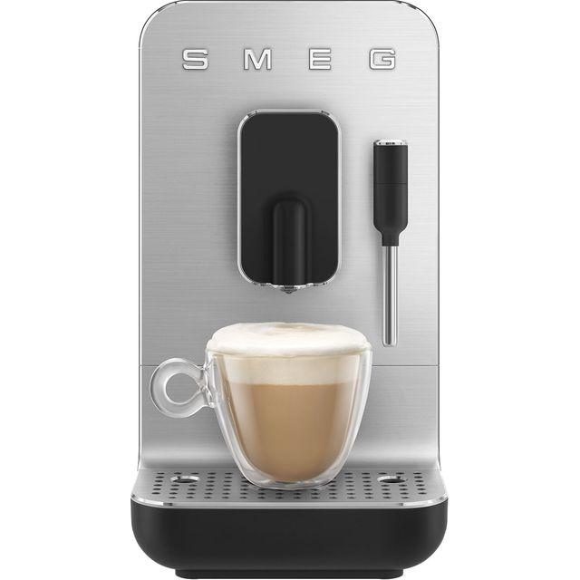 Smeg 50s Retro BCC02BLMUK Bean to Cup Coffee Machine - Black