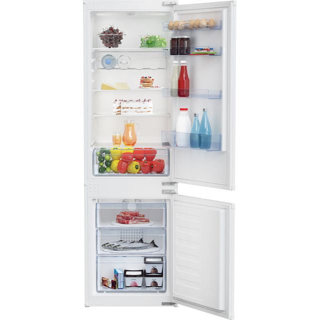 Beko BCFD373 Built In Fridge Freezer - White - BCFD373_WH - 1